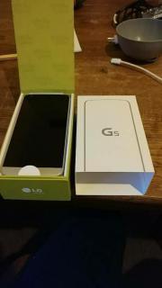 LG G5 silber -