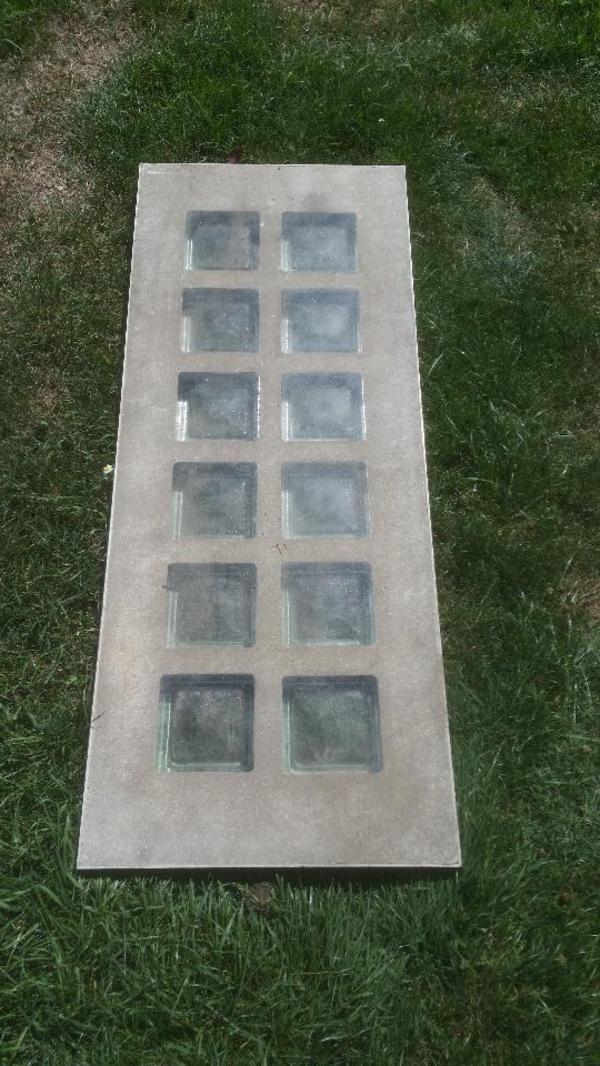 lichtschachtabdeckung metall beton glasbausteine gebraucht in stein sonstiges material f r den. Black Bedroom Furniture Sets. Home Design Ideas