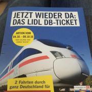 Lidl Bahn Ticket