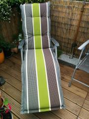 liegestuhl auflage in frankenthal pflanzen garten g nstige angebote. Black Bedroom Furniture Sets. Home Design Ideas
