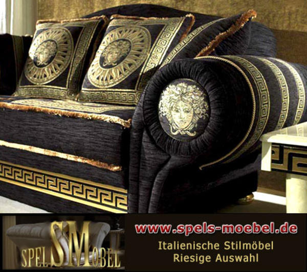 luxuriose mobel von exedra wohnzimmergarnitur im. Black Bedroom Furniture Sets. Home Design Ideas