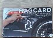 MAGCARD Magnet Karte