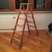 Malerleiter Holzleiter restauriert