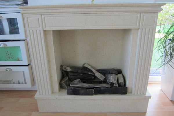 marmor kaminofen ohne schornstein inkl powerflame system. Black Bedroom Furniture Sets. Home Design Ideas