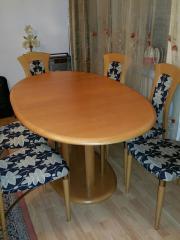 Massiv Esstisch und 6xStühle von Segmüller Tisch lässt sich auf 210cm länge. 6 Stühle aus Massiv Holz. Alles in sehr guten zustand.Bei fragen können sie uns gerne kontaktieren. 130,- D-90409Nürnberg Maxfeld Heute, 08:35 Uhr, Nürnberg Maxfeld - Massiv Esstisch und 6xStühle von Segmüller Tisch lässt sich auf 210cm länge. 6 Stühle aus Massiv Holz. Alles in sehr guten zustand.Bei fragen können sie uns gerne kontaktieren
