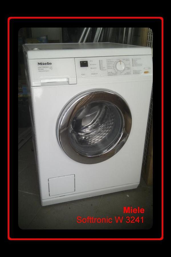 miele waschmaschine softtronic w 3241 neuwertig sonderaktion top markenware in mosbach. Black Bedroom Furniture Sets. Home Design Ideas