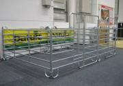 mobile Schnellbau Panelboxen