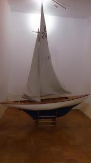 Modellsegelboot Gracia