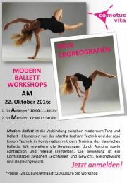 Modern Ballett Workshop