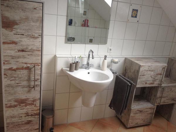 m bel toscana eiche antik dekor f r s bad in deizisau bad einrichtung und ger te kaufen und. Black Bedroom Furniture Sets. Home Design Ideas