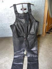 Motorrad-Latzhose aus