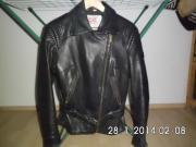Motorradblazer aus Leder