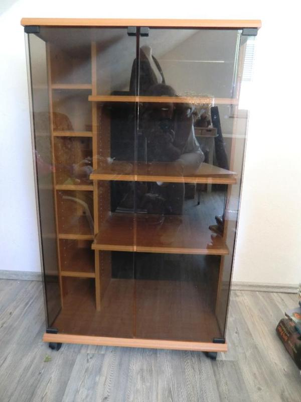 musikanlage schrank sideboard glas in walzbachtal sonstige wohnzimmereinrichtung kaufen und. Black Bedroom Furniture Sets. Home Design Ideas
