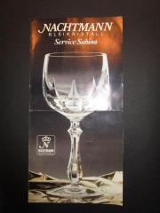 NACHTMANN-Bleikristall, Konvolut