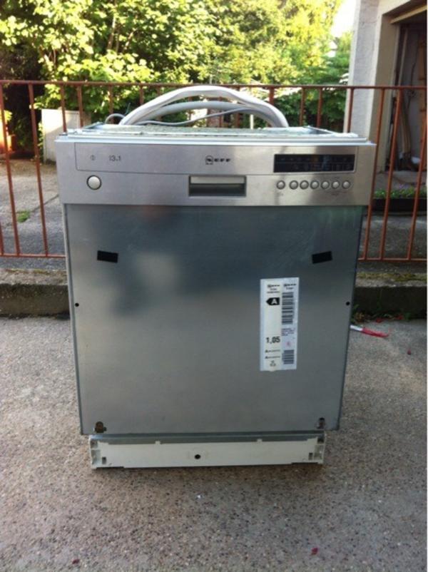Neff spulmaschine einbau voll funktionsfahig in edingen for Neff spülmaschine