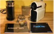 Nespresso + Milchaufschäumer, neuwertig