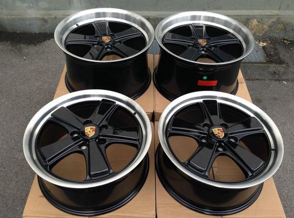 neu porsche 997 19 zoll felge 911 sport classic turbo 8 5j. Black Bedroom Furniture Sets. Home Design Ideas