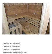 sauna holz kaufen gebraucht und g nstig. Black Bedroom Furniture Sets. Home Design Ideas
