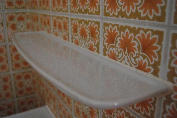 Neuwertige spiegel ablage keramik wei in m nchen bad einrichtung und ger te kaufen und - Spiegel ablage bad ...