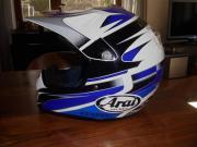 Neuwertiger Supermoto-Helm,