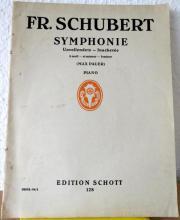 Noten: Schubert: Symphonie