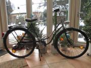 Oldtimer Marken -Damenrad (