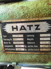 Oldtimer Traktor Hatz