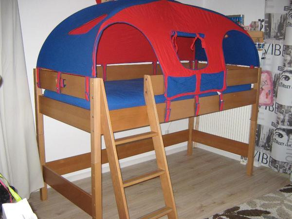 paidi varietta hochbett mit schreibtisch kommode wickeltisch 2 regale in teltow kinder. Black Bedroom Furniture Sets. Home Design Ideas