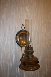 Petroleumlampe, antik