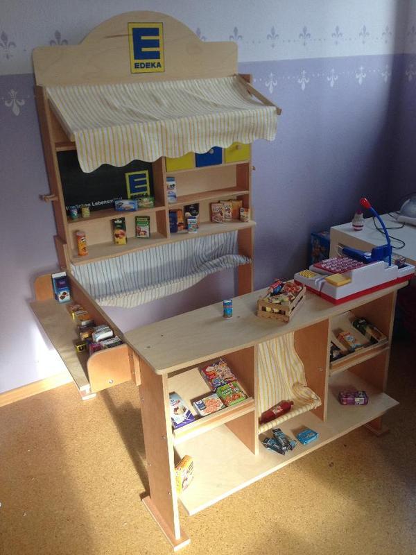 Kaufladen Holz Kleinanzeigen ~ Plaho 11020 EDEKA Kaufladen Holz in Spalt  Sonstiges Kinderspielzeug