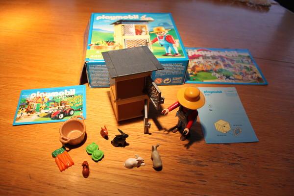Playmobil hasenstall ab jahre für eur versand