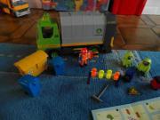 Playmobil Müllabfuhr + Gefahrgutbeseitigung