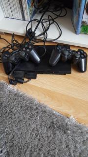 Playstation 2 inkl. 2 Controller, Speicherkarte und 11 Spielen Playstation 2 befindet sich in einem einwandfreien Zustand. In dem Angebot mit inbegriffen sind: - Playstation 2 - 2 Controller -11 Spiele - ... 55,- D-55606Kirn Heute, 15:09 Uhr, Kirn - Playstation 2 inkl. 2 Controller, Speicherkarte und 11 Spielen Playstation 2 befindet sich in einem einwandfreien Zustand. In dem Angebot mit inbegriffen sind: - Playstation 2 - 2 Controller -11 Spiele -