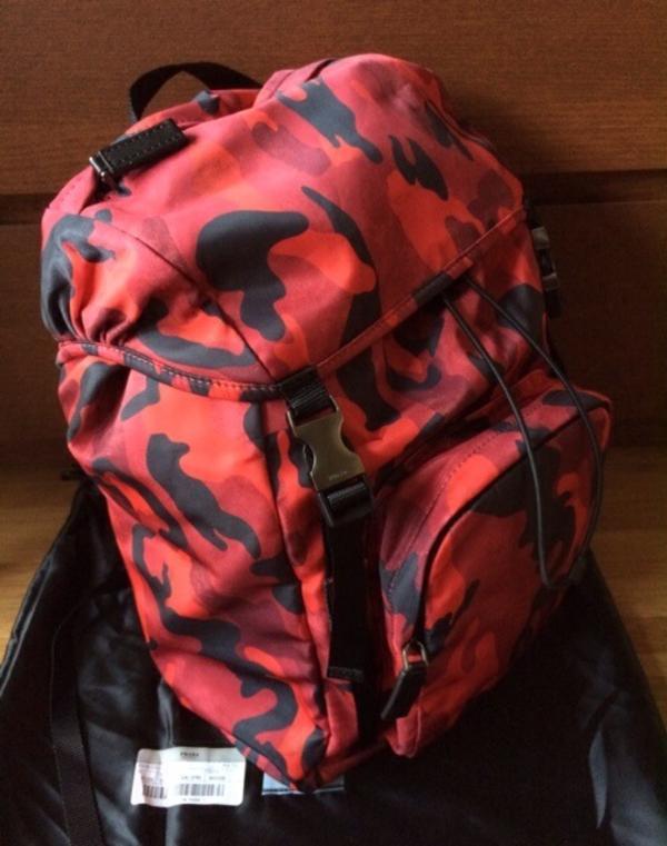prada rucksack tasche neuwertig in obergurgl taschen. Black Bedroom Furniture Sets. Home Design Ideas