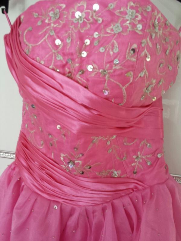 prinzessinnen ballkleid neu in pinkrosa in offenbach