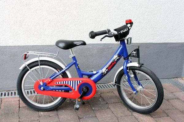 puky fahrrad 16 zoll alu capt n sharky in darmstadt kinder fahrr der kaufen und verkaufen. Black Bedroom Furniture Sets. Home Design Ideas