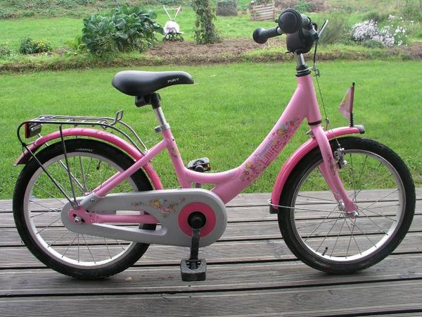 puky prinzessin lillifee kinder fahrrad pink rosa 18 zoll. Black Bedroom Furniture Sets. Home Design Ideas
