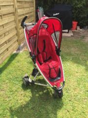 Quinny Buggy weinrot