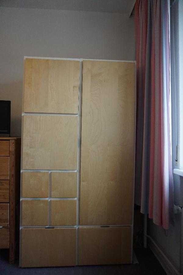 Ikea Ruft Himmelbett Zurück ~   Kleiderschrank von IKEA (Weiß Birke), gebraucht gebraucht kaufen