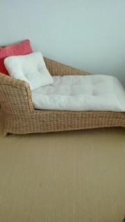 rattan liege kaufen gebraucht und g nstig. Black Bedroom Furniture Sets. Home Design Ideas