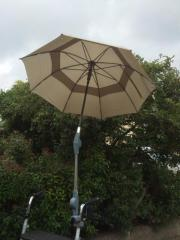 Regenschirm für Rollator
