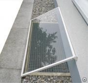 Regenschutz, Lichtschachtabdeckung, 5St.