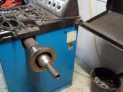Reifenmontiermaschine + Auswuchtmaschine + Luftsystem