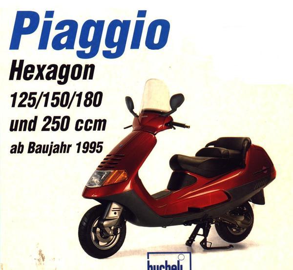 reparaturanleitung hexagon 125 150 180 gt 250 in bochum motorrad roller teile kaufen. Black Bedroom Furniture Sets. Home Design Ideas