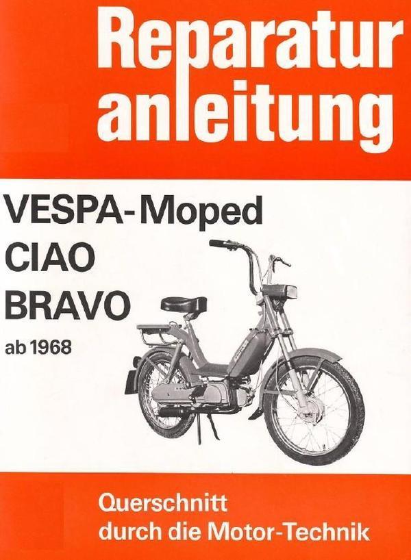 Vespa Px  Reparaturanleitung