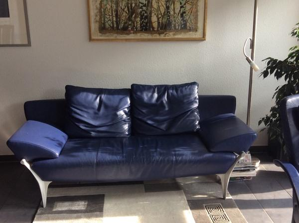 rolf benz ledersofa in waiblingen designerm bel. Black Bedroom Furniture Sets. Home Design Ideas