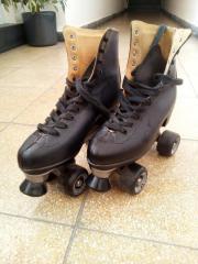 Rollschuhe, Skater Leder