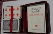 Rommé/Canasta-Spieletui