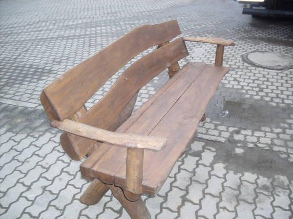 Gartenmobel Gartenregal Eisen : Schone handgefertigte Massivholzbank zuverkaufen, verschiedenen farben