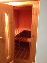 Sauna sehr billig
